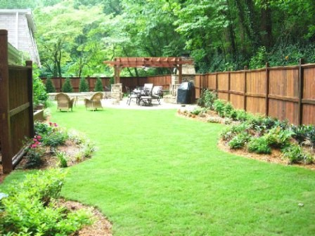Home page for Ideas for landscaping large areas